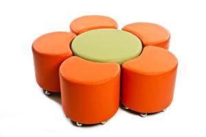 Podz Ottoman | Collaborative Classroom Furniture | Class Furniture NZ