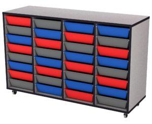 Buddy 4-Bay Small Tray Storage (P)