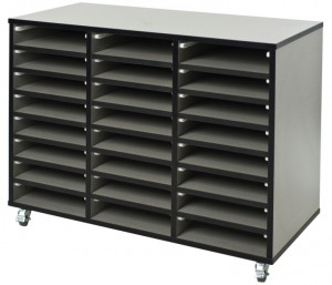 Buddy 3-Bay Paper Storage (W)