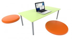 Buddy Kneeler Table | Modern Learning Space | Class Furniture Solutions