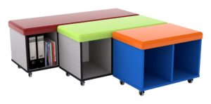 Buddy Sit-On Storage Trolleys (three sizes available)
