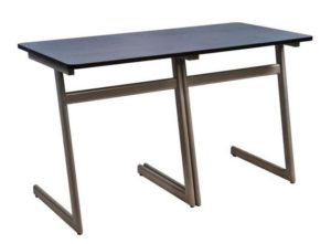 Buddy Fixed Top Double Desk
