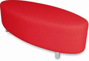 Oval Ottoman | Versatile Seating Solution | Class Furniture Solutions