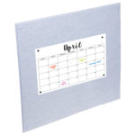 Grey PinPanel with Calender