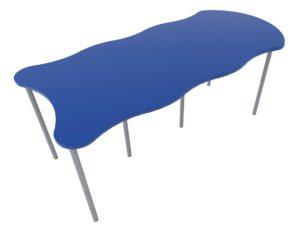 Buddy Bridge C Table | Modular Classroom Table | Class Furniture NZ