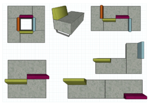 Figure Ottoman | Modular Seating | Class Furniture Solutions