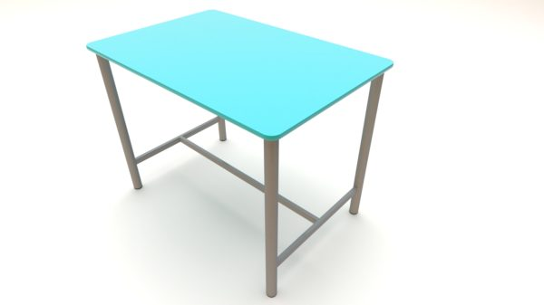 High-Table-with-Fully-Welded-Frame