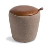 Dome-Stool-Leather