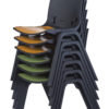 Zone-Linking-Chair-Stack-Black